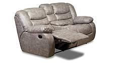 Двухместный диван реклайнер Манхэттен с баром, фото 2