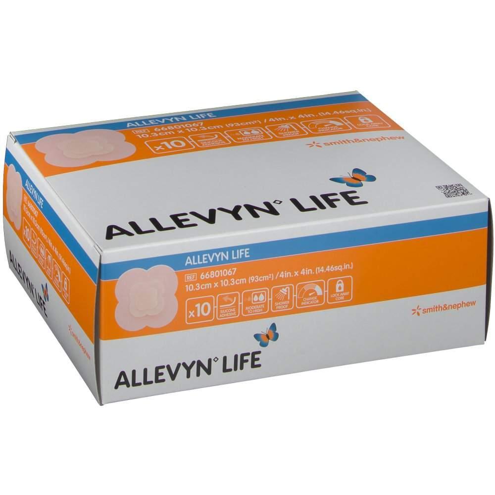Allevyn Life 10,3x10,3см - Cиликоновая губчатая повязка