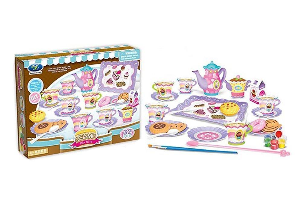 Детский игровой набор Xingxing Yuan Чайный сервиз 9909 32 ел