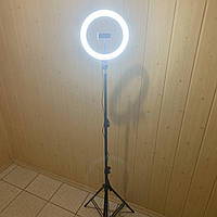 Лампа для селфи кольцевая 26 см для телефона со штативом 2м Ring Fill Light световое кольцо кольцевой макияжа