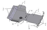 Защита двигателя Subaru Forester 2008-2013 (Субару Форестер)