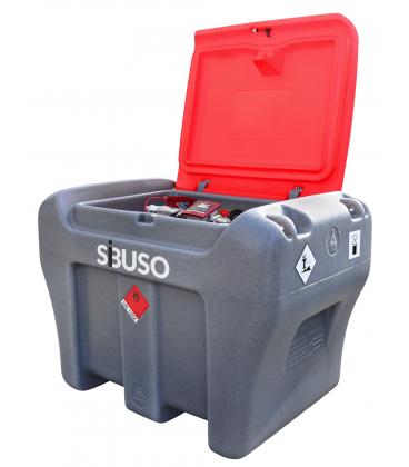 Мобильная заправка для перевозки топлива в автомобиле  SIBUSO CM450 Basic 450 литров