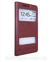 Чехол книжка  для Lenovo A850 красный, фото 1