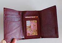 Жіночий шкіряний гаманець BalisaPY-H148 т. червоний Жіночі шкіряні гаманці БАЛІСА оптом Одеса 7 км, фото 3