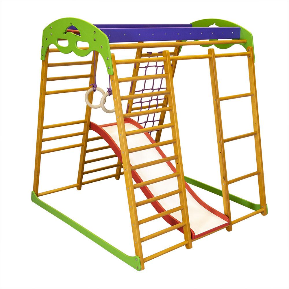SportBaby Детский спортивный комплекс для квартиры «Карамелька мини»