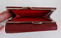 Женский кожаный кошелек Balisa PY-H146 т.красный Женские кожаные кошельки БАЛИСА оптом Одесса 7 км, фото 3