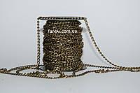 Цепочка бронзовая декоративная (5 мм*3мм)