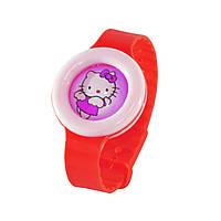 🔝 Детский антимоскитный браслет (репеллент) от укусов комаров | bikit monster - цвет красный | 🎁%🚚