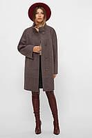 Женское короткое шерстяное пальто большие размеры