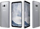 Смартфон Samsung Galaxy S8 G950FD 4\64Gb Arctic Silver, фото 3