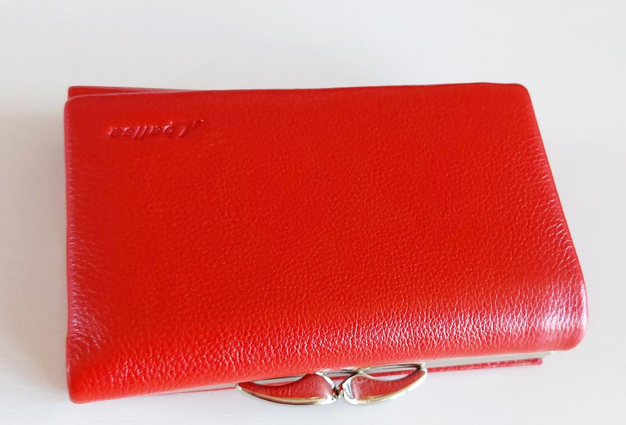 Женский кожаный кошелек Balisa PY-H149 ярко-красный Женские кожаные кошельки БАЛИСА оптом Одесса 7 км