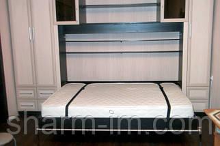 Ножки для шкаф-кровати поворотно-откидные, черные, фото 3