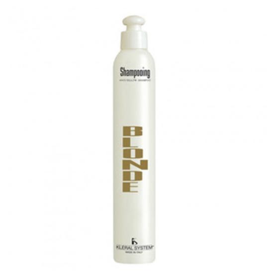 Шампунь для седых и осветленных волос ANTI-YELLOW SHAMPOO Kleral System 250 мл