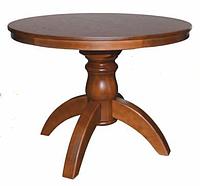 Стол круглый раздвижной на одной ноге Богема
