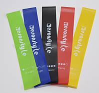 Эспандер ленточный для фитнеса набор, Esonstyle, резинки для тренировок и спорта (5 эспандеров/уп) Еспандеры