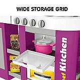 Большая детская кухня 922-47 вода, духовка, холодильник, свет, звук, посуда, фото 4