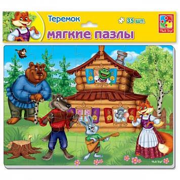 """Пазли м'які які """"Теремок"""" № VT1103-68"""