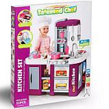 Большая детская кухня 922-47 вода, духовка, холодильник, свет, звук, посуда, фото 9