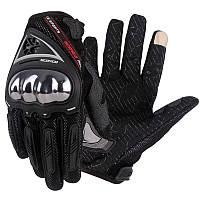 Мотоперчатки Scoyco MC44 Black