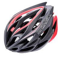 Велошлем защитный Meteor Crust in-Mold (original) кросс-кантрийный с регулировкой, шлем велосипедный