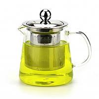 """Заварочный чайник """"Classic"""" стекло, с сеточкой, чайник заварочный, чайник для заварки чая"""