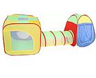 Детская игровая палатка с тоннелем, домик игровой, намет дитячий 995-7011a, фото 6