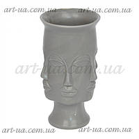 """Інтер'єрна ваза для декору у формі осіб """"Apollo"""" ваза для декору, інтер'єрна ваза з особами, фото 1"""