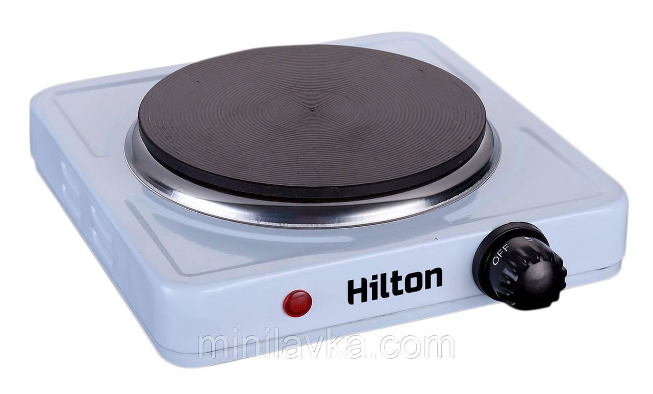 Электроплита Hilton HEC-102 - 1000 Вт, одноконфорочная
