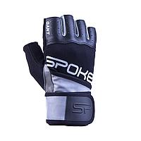 Мужские перчатки для фитнеса Spokey GANT II 921027 (original), спортивные атлетические тренировочные