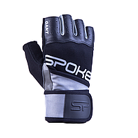 Мужские перчатки для фитнеса Spokey GANT II 921027 (original), спортивные атлетические тренировочные L