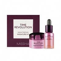 Набор миниатюр для ночного ухода  Missha Time Revolution Night Repair Miniature Kit