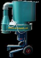 Измельчитель корма универсальный для зерна и сена 4кВт, 380В (дертемолка, корморезка, зернодробилка)