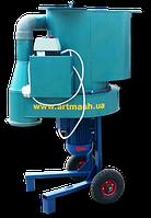 Измельчитель сена и соломы 220 В домашний, 4 кВт (дробилка зерна, сена, камыша, сенорезка)