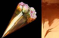 """Обгортковий папір-калька для квітів """"Galaxy"""" ціна за 20 шт, 60х60см, помаранчева, папір-калька для квітів,, фото 1"""