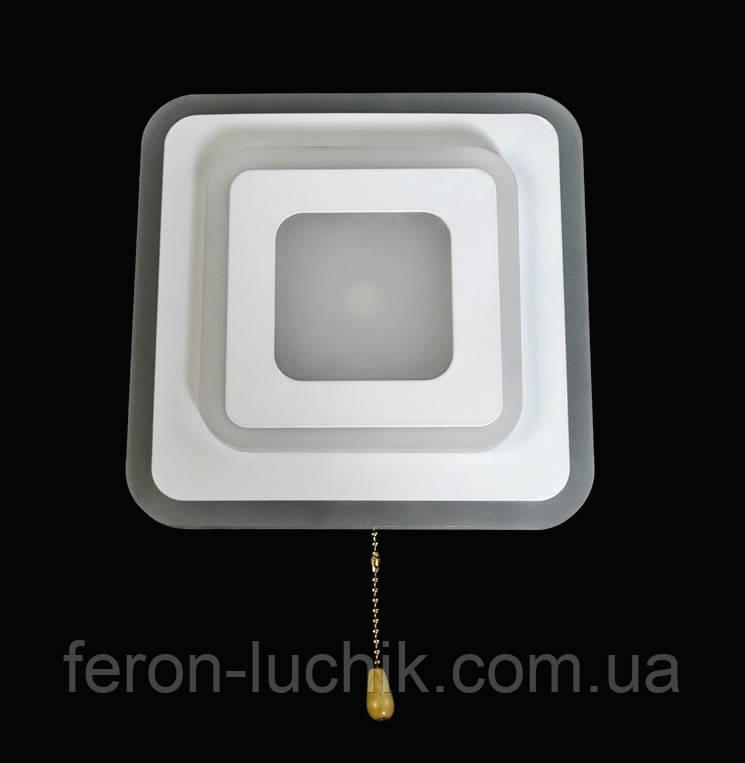 Светодиодный настенный светильник квадратный 22W LED бра
