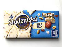 Белый шоколад Studentska, 180 г