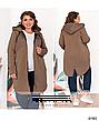 Куртка женская демисезонная стильная размеры: 50-64, фото 4