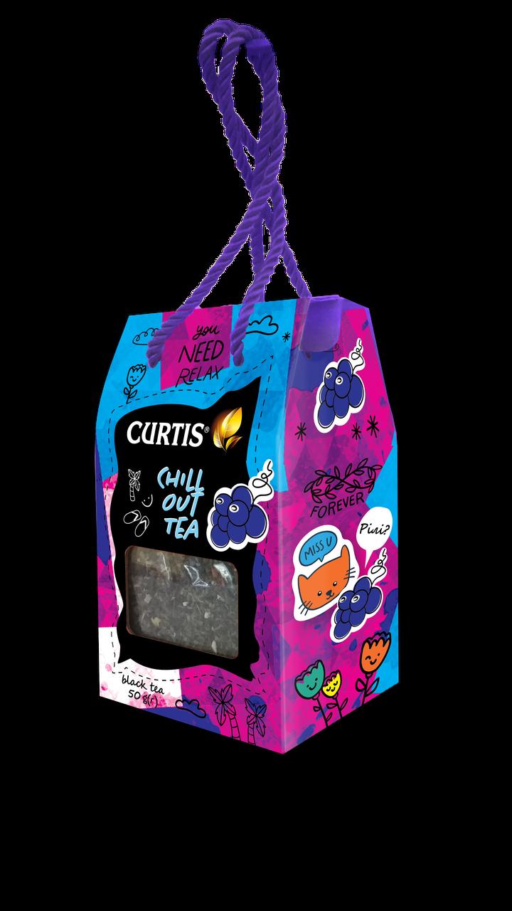 """Чай черный ароматизированный листовой Кертис (Curtis) """"Chill Out Tea"""", 50г"""