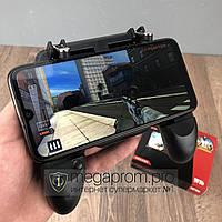 Игровой геймпад для смартфона Mobile Game Controller W10 джойстик контроллер для телефона с триггерами для игр