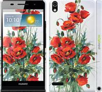 "Чехол на Huawei Ascend P6 Маки ""523c-39"""