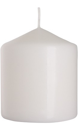 Свеча цилиндр белая Bispol 9 см (sw80/90-090)
