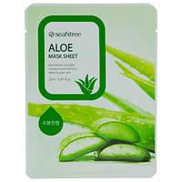 Тканевая маска с экстрактом алое seaNtree Aloe Mask Sheet
