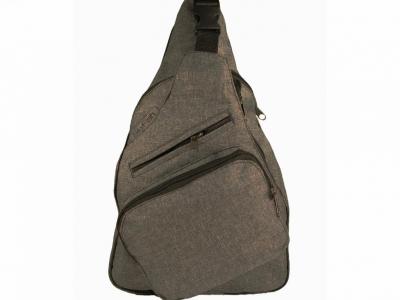 Рюкзак плечевой (сумка) SkyFish Тёмно Серый, 1шт.