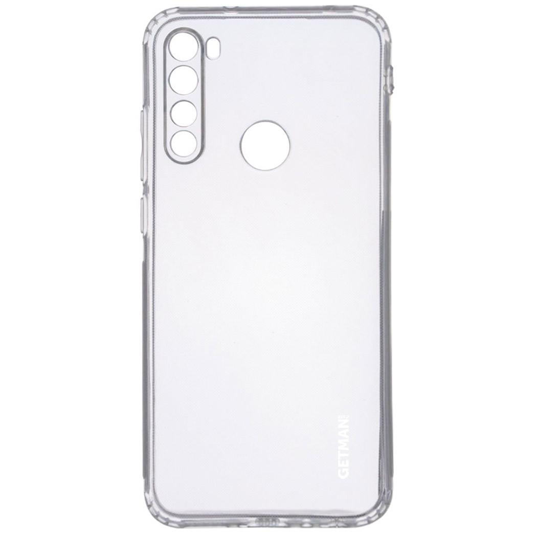 TPU чехол GETMAN Clear 1,0 mm для Xiaomi Redmi Note 8T