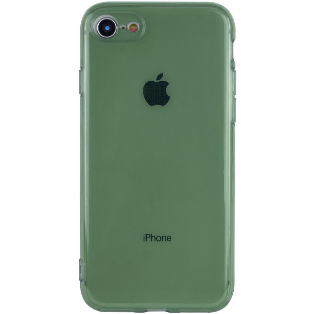 """Матовый полупрозрачный TPU чехол с защитой камеры для Apple iPhone 7 / 8 / SE (2020) (4.7"""")"""