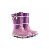 Сапожки детские зимние фиолетовые Литма, фото 1