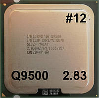 Процессор ЛОТ #12 Intel Core2 Quad Q9500 R0 SLGZ4 2.83GHz 6M Cache 1333 MHz FSB Soket 775 Б/У, фото 1