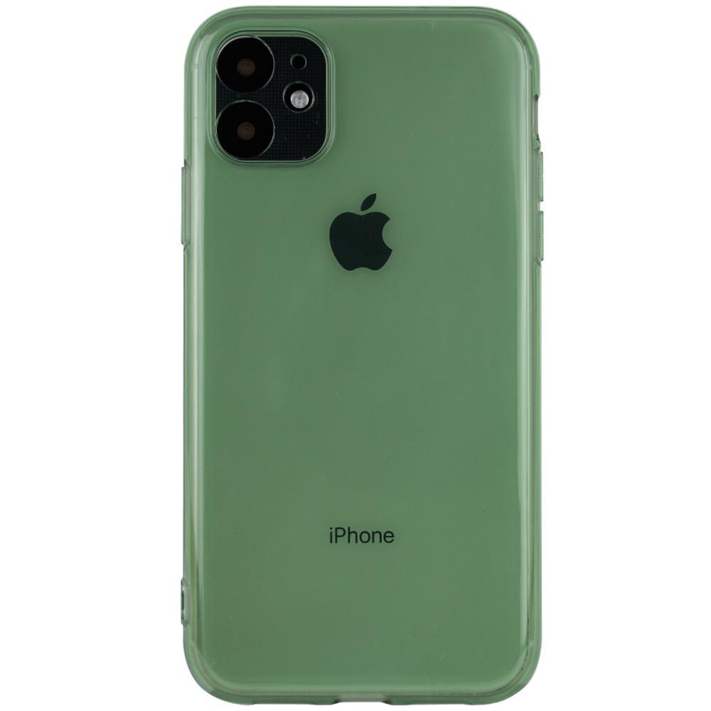 """Матовый полупрозрачный TPU чехол с защитой камеры для Apple iPhone 11 (6.1"""")"""