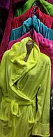 Удобные однотонные халаты для женщин Большого размера , фото 2