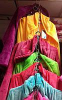 Удобные однотонные халаты для женщин Большого размера , фото 3